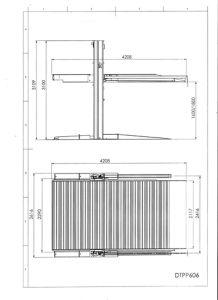 2 Post Parking Lift (DTPP606) pictures & photos