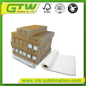 No-Curl 100 GSM Fast Dry Sublimation Paper for Inkjet Printer pictures & photos