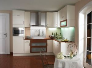Plastic Laminated Kitchen Cabinets Design pictures & photos
