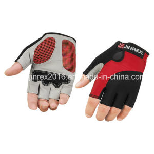 Mitt Bicycle Half Finger Cycling Padding Bike Sports Glove pictures & photos