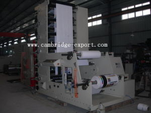 Flexography Label Printing Machine for Plastic Film/Paper