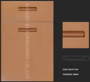 High Quality High Glossy/Matt/Painted/2pack Lacquer Finish MDF Kitchen Components Door (BEL07-YY01) , More Than 20 Styles