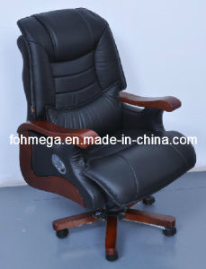 Manufacturing Leather Swivel Director Office Chair Foh-1237 pictures & photos