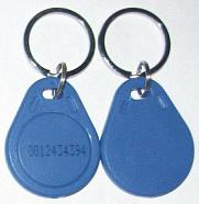125KHz Proximity Key Chains T5557 / T5567 / ATA5567 / ATA5577 / EM4100