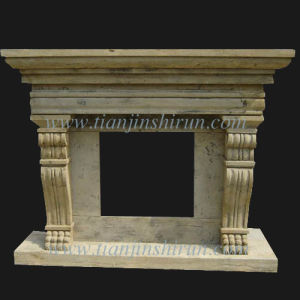 Antique Stone Fireplace pictures & photos