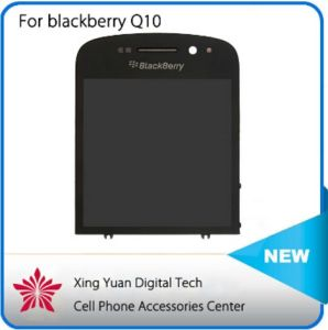 Original for Blackberry Q10 LCD Display +Touch Screen Digitizer+Frame Assembly Version 001 /111