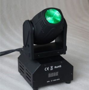 10W RGBW 4in1 Mini LED Moving Head Beam Light pictures & photos