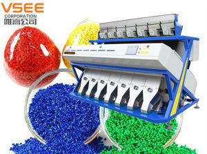 High Resolution 5000+ Pixels Intelligent CCD Camera Plastics Color Sorter Machine in China pictures & photos