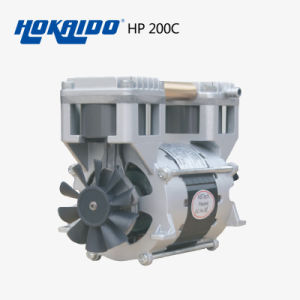 Hokaido Air Compressor - Oil Free Piston Vacuum Pump (HP-200C)