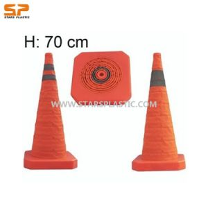 Collapsible Safety Cones (ST-CSC-L70) pictures & photos