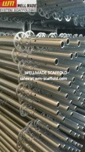 Europe Types Steel Ring Lock Scaffolding Upright Standards pictures & photos
