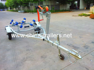 CE European Small Galvanized Roller Boat Trailer pictures & photos