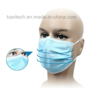 Surgical Face Mask Earloop Tied Cone Types Food Industry Kxt-FM11 pictures & photos