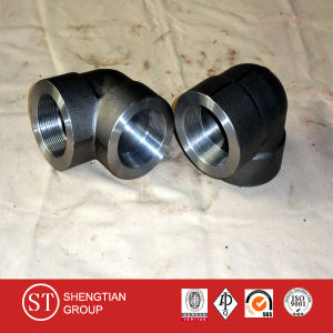 ANSI B16.11 Forged Pipe Fititngs Elbow/Tee/Coupling/Nipple pictures & photos