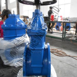 DIN3352 F4 PN16 DN300 Non-Rising Stem Resilient Seated Gate Valve (Z45X-16)