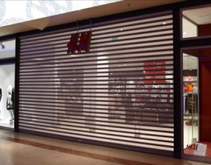 Commercial Microperforated Galvanized Steel Roller Shutter/Rolling Shutter Door pictures & photos