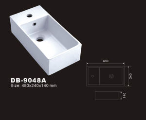 Rectangle Vessel Sink (DB-9048A)