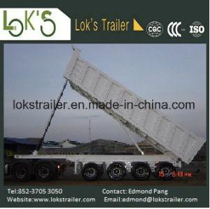 45cbm 4 Axles Tipper Trailer pictures & photos