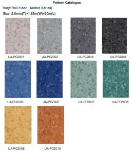 1.6mm thickness PVC residential flooring pictures & photos