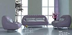 1/1/3 Seat Leather Sofa (E206)
