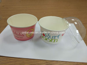 Paper Cups, Ice Cream Cup, Cap with Lids pictures & photos