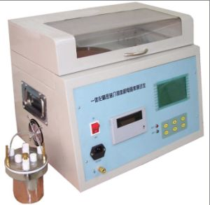 Dielectric Loss and Volume Resistivity Tester for Insulation Oil pictures & photos