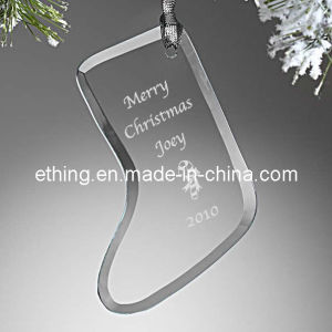 Personalized Glass Christmas Stocking for Christmas Gift pictures & photos
