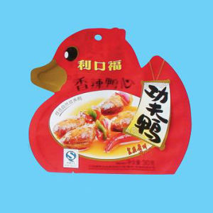 Plastic Standing Shaped Food Pouch pictures & photos