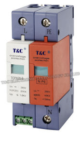 Power Surge Protection Device / Surge Arrester / (TCPA20-B/1+NPE) with CE Certificate