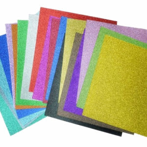 Printed Glitter EVA Foam Sheet for Education Craft pictures & photos