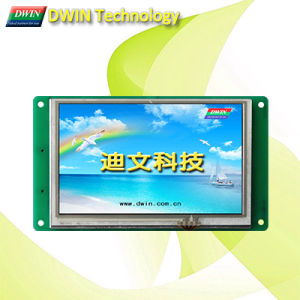High-Definition Industrial 5.0inch Uart TFT LCD Module/HMI, Touch Screen Optional, Dmt80480t050_01W