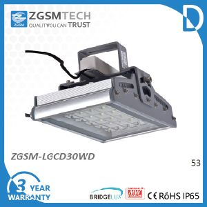 30W Tempered Glass IP65 LED High Bay Light Fixture pictures & photos