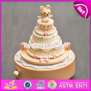 Customize Cartoon Gifts Wooden Happy Birthday Music Box for Children W07b055 pictures & photos