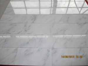 Starry Star White Chinese White Marble Roof Tile