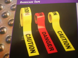 Top Quality PE Traffic Barrier Caution Tape Made in China pictures & photos