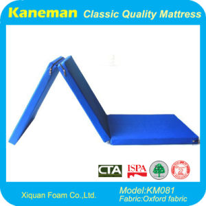 3 Folding Travel Foam Mattress pictures & photos