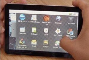 10.2 Inch Android 2.1 OS Tablet PC With WiFi, 3G