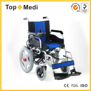 Ce Certificated Medical New Product Cheap Price Folding Electric Power Wheelchair pictures & photos