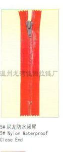 Nylon Zipper 5# Nylon Waterproof Close End (JG1019)