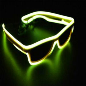 Luminescence LED EL Glow Sunglasses pictures & photos