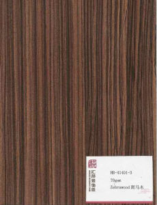 Zebrawood UV Panel (HB-41401-3) pictures & photos