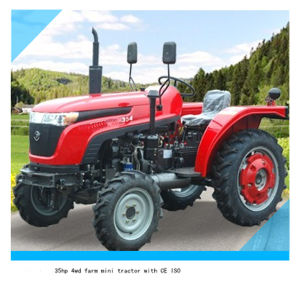 Agriculture Machinery 35HP 4WD Cheap Mini Farm Tractor pictures & photos