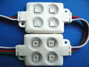 SMD Injection LED RGB Module Waterproof 5730 LED Module with Lens pictures & photos