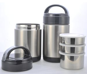1800ml Stainless Steel Food Boxes