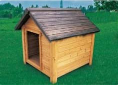 Animal Garden Wooden Pet House Windproof House for Big Dog