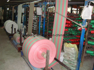 Plastic Polypropylene Colored Polypropylene Woven Fabric Roll pictures & photos