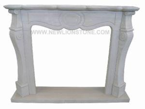 Travertine White Fireplace / Fireplace Mantel Travertine Classic Stone