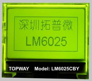 128X64 Graphic LCD Module Cog Type LCD Display (LM6025C) pictures & photos