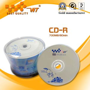 Recordable Blank CD Disc 700MB 52x 80min Shrink-Wrap Pack (AS TECH)