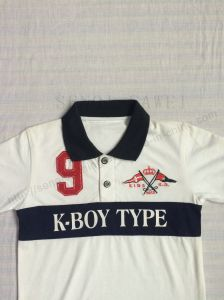New Style Kids Polo Shirt for Boy Sq-6254 pictures & photos